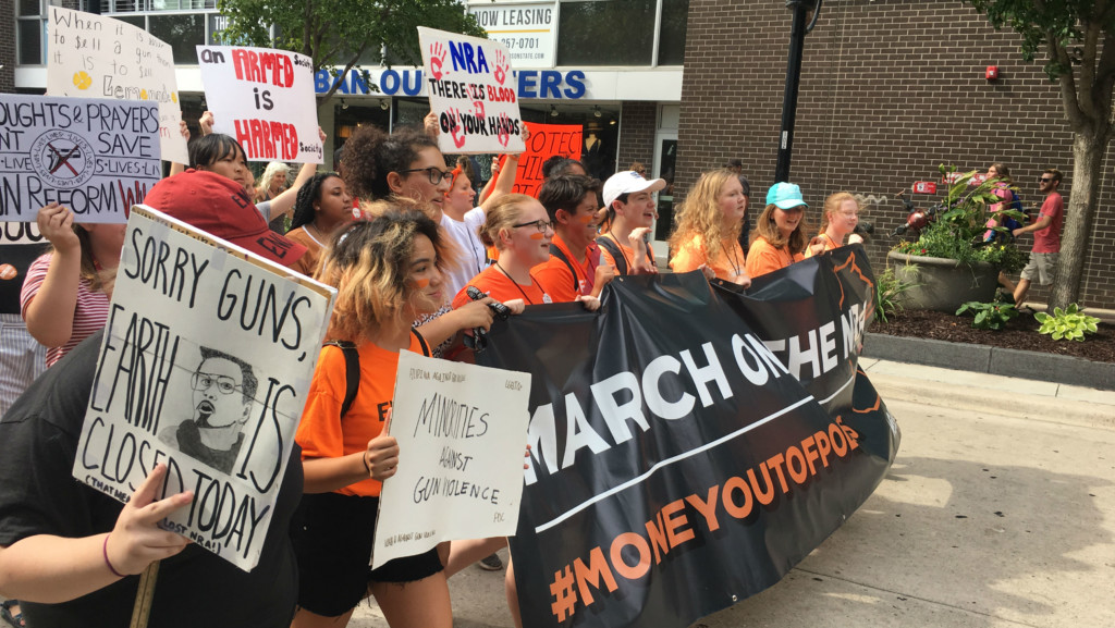Madison students organize march on NRA