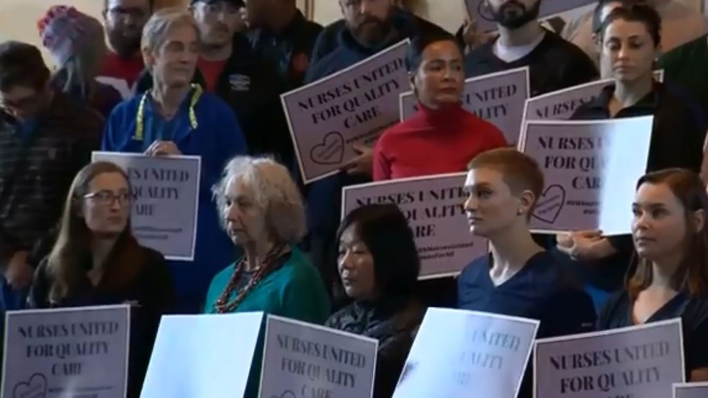 Nurses at UW Health announce new union, demand voluntary recognition from board of directors