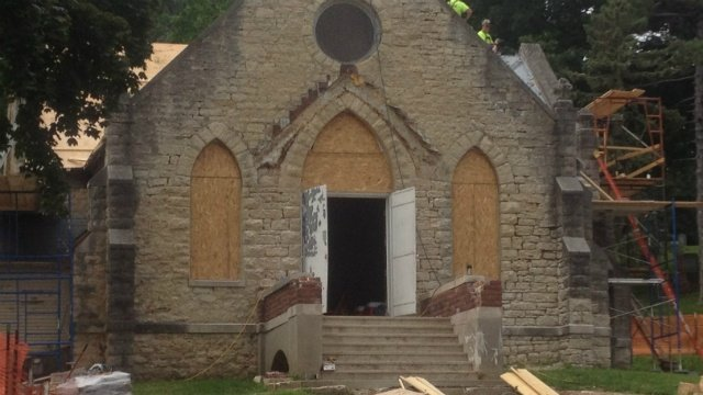 Janesville community steps up to save historic chapel