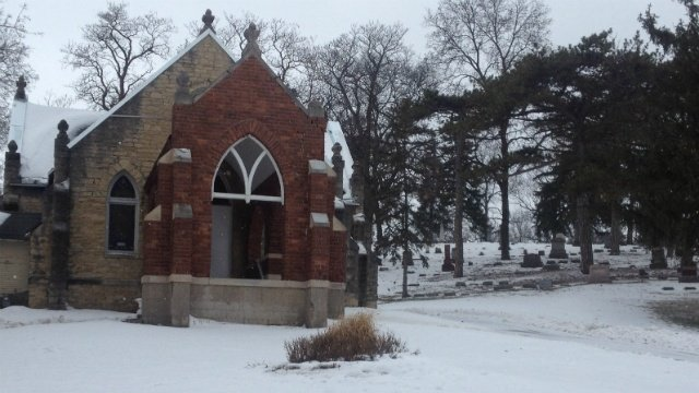 Volunteers work to preserve 115-year-old chapel