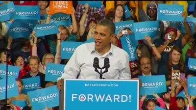 Obama rallies in Milwaukee