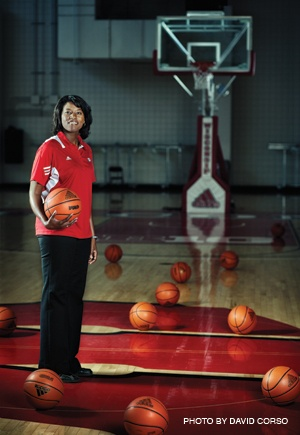 On the Court with Bobbie Kelsey