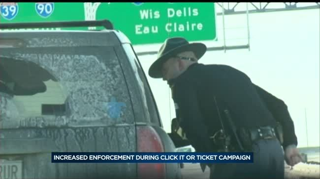 Officers target seat belt use over holiday weekend