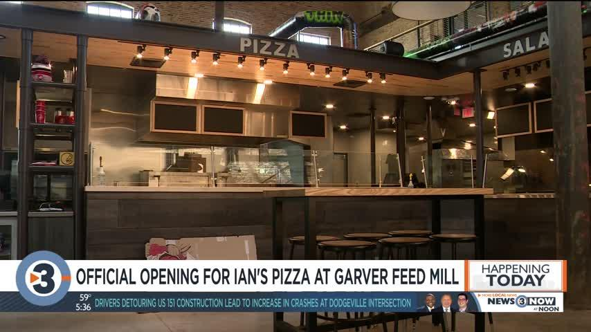 New Ian's Pizza at Garver Feed Mill closes early on opening day to restock