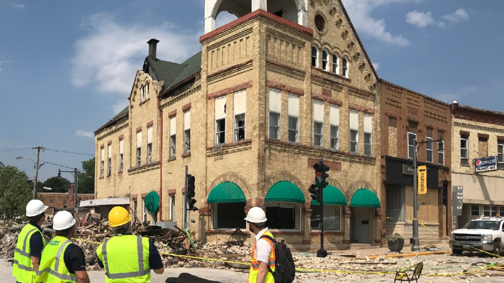 'It was built to last, and it will:' Following explosion, owners to restore Old City Hall