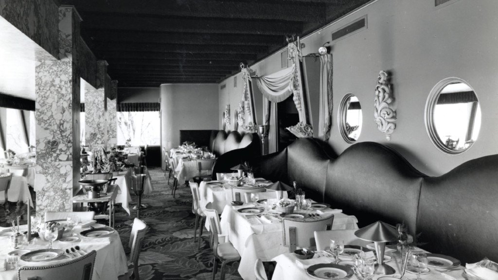 Hotel dining has experienced ups and downs throughout the decades