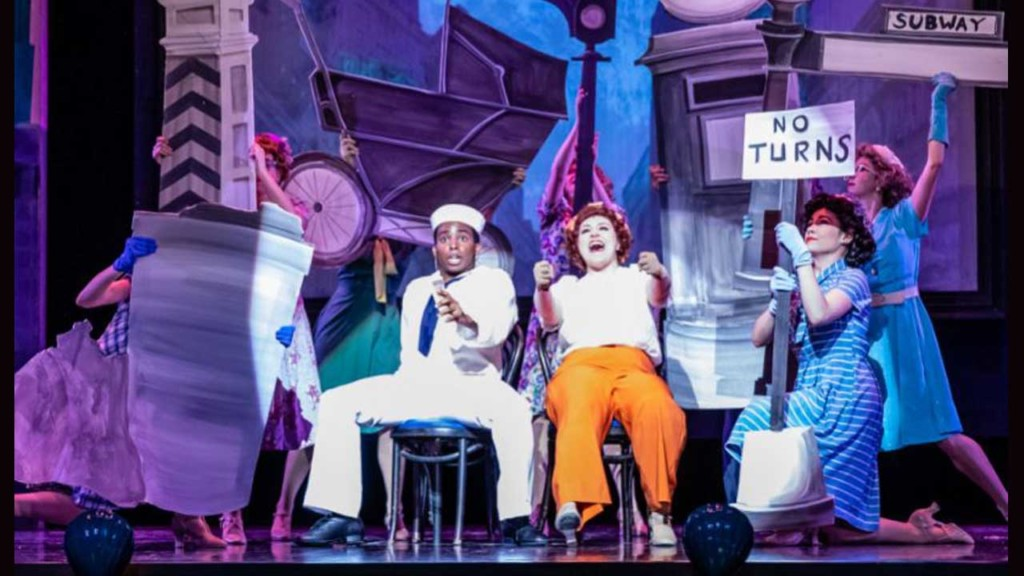 'On the Town' is a love letter to classic Broadway