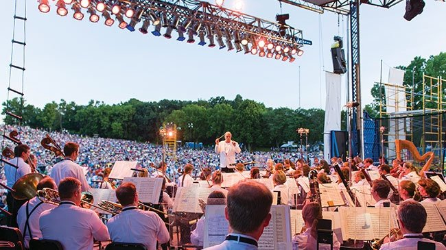 Park yourself in the park for some opera