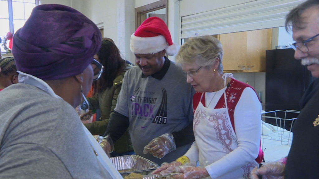 One community spreads holiday cheer, shows that 'experience outweighs gifts'