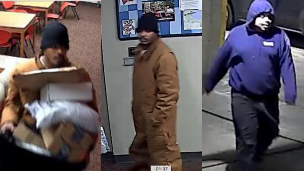 Package thieves caught on camera, police say