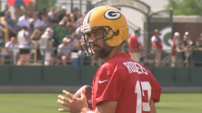 Packers kick off training camp in Green Bay
