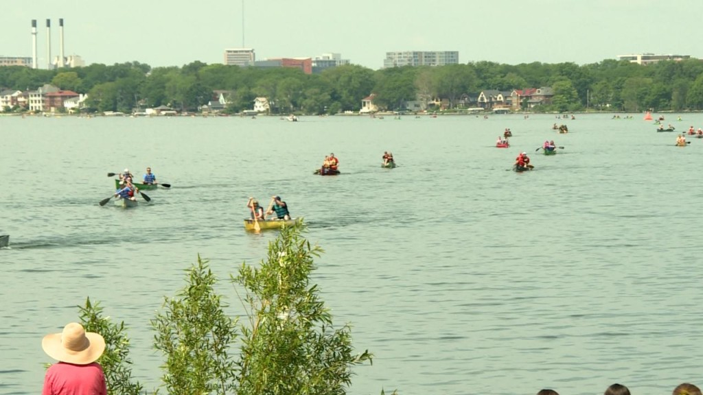 Paddle and Portage racers compete for more than just the finish line