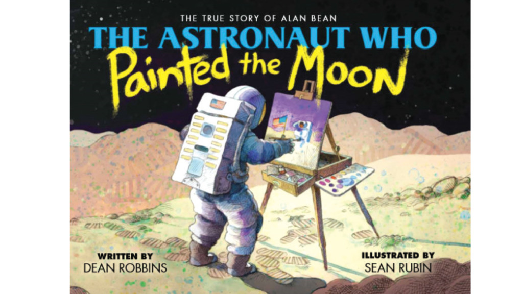Dean Robbins' book takes young readers to the moon