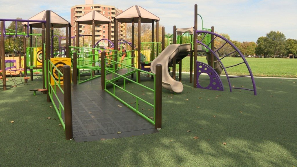 City opens barrier-free playground at Brittingham Park