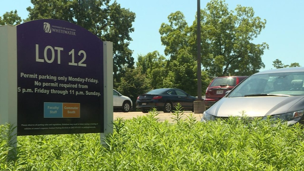 UW-Whitewater quadruples parking without a permit fine