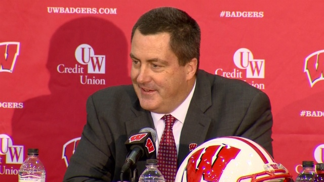 Many say Chryst's connection to UW makes him obvious pick