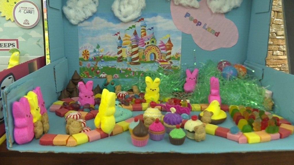 Creative 'Peeps' displays bring joy to cancer patients