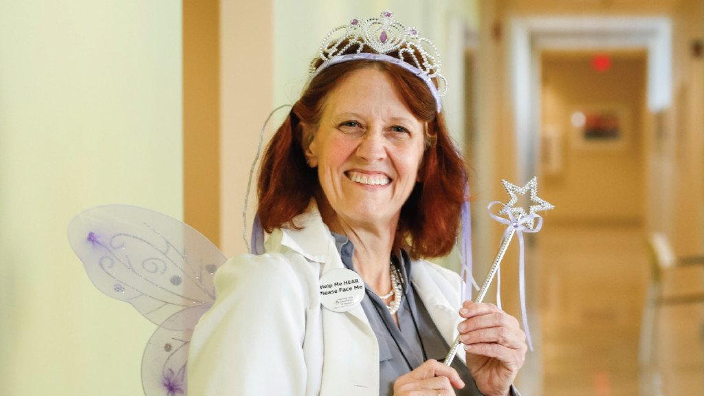 Top Nurse: Peggy Troller works her magic as the hearing aid fairy