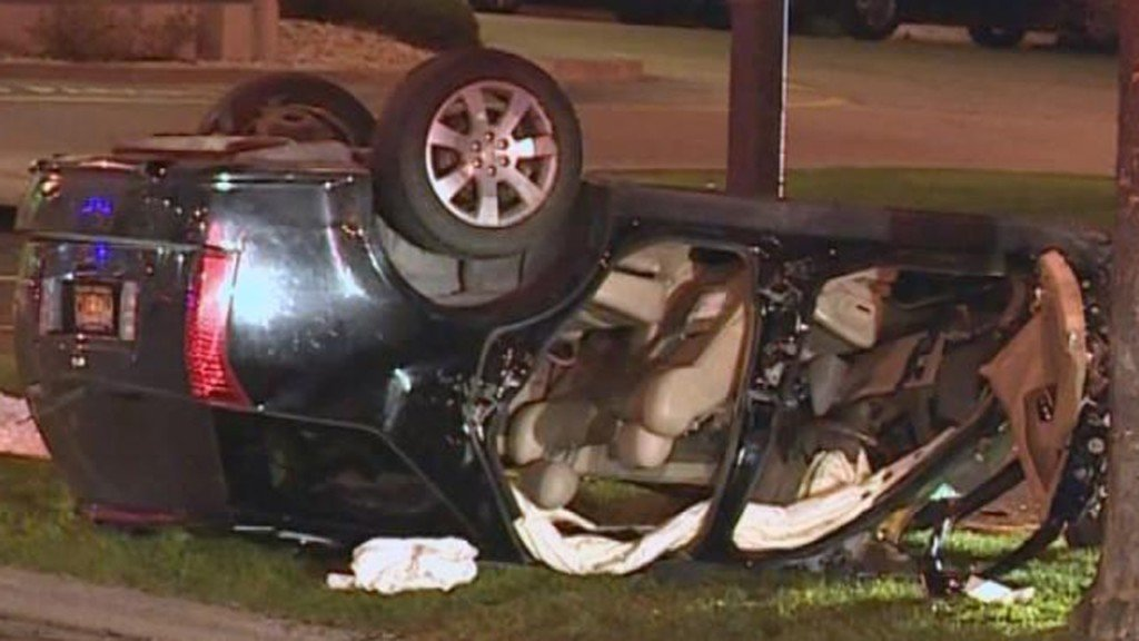 Driver faces OWI in crash that injured 3, broke apart vehicle