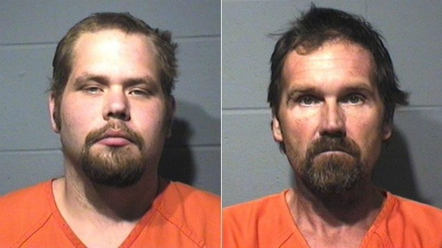 Men charged with armed bank robbery