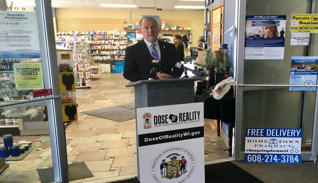 Wisconsin AG addresses drug thefts from state pharmacies, unveils new deterrence plan