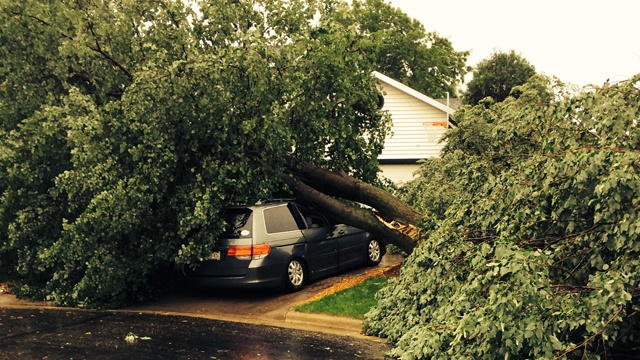 Officials: Sun Prairie, Cottage Grove hit hardest by storms