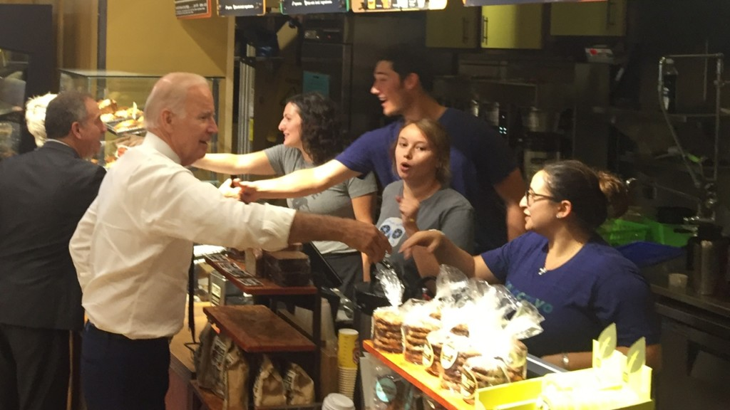 """Biden in Madison: """"We have to win Wisconsin"""""""