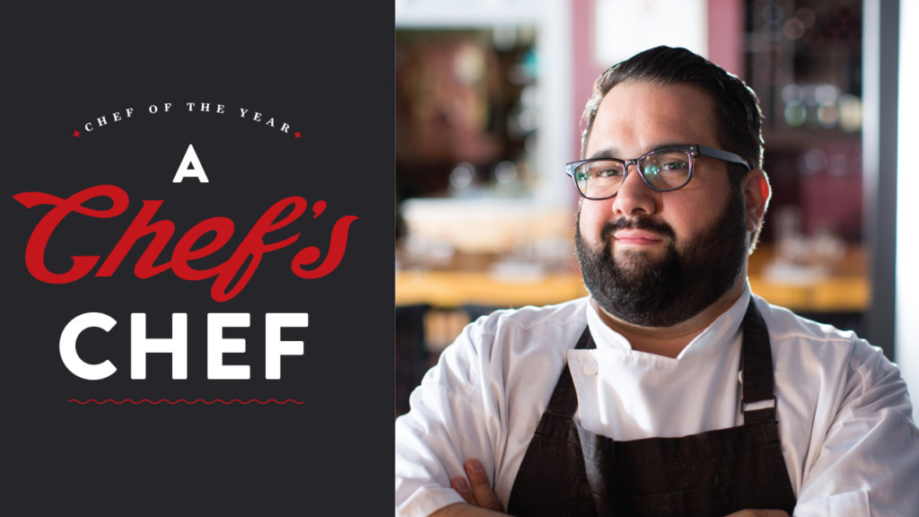 Chef of the Year 2017: Daniel Bonanno is a chef's chef