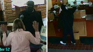 Reward offered, more photos released of bank robbery
