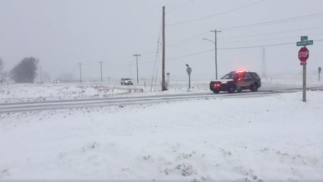 """County leaders call for """"extreme caution,"""" ask drivers to stay home"""