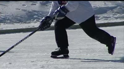 Pond hockey tournament raising money to fight cancer