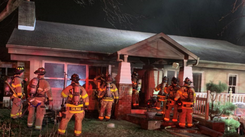 Major fire prevented by quick moving Madison firefighters