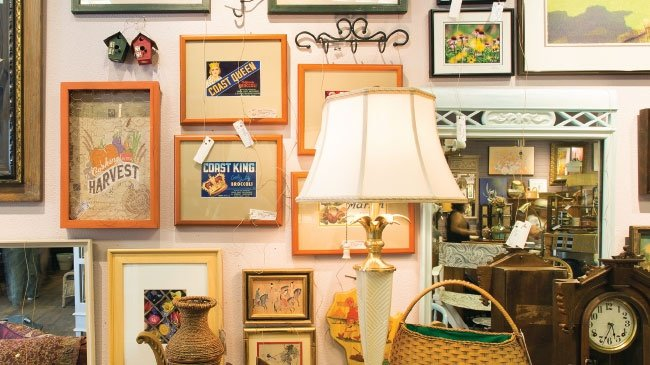 The Cozy Home offers cove of consignments