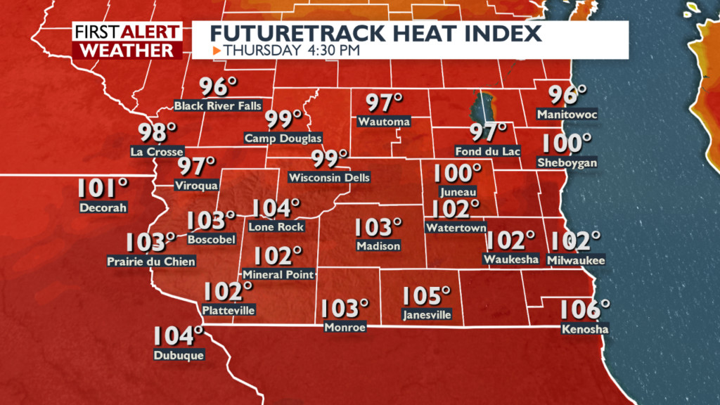 How heat index values above 100 degrees impact you