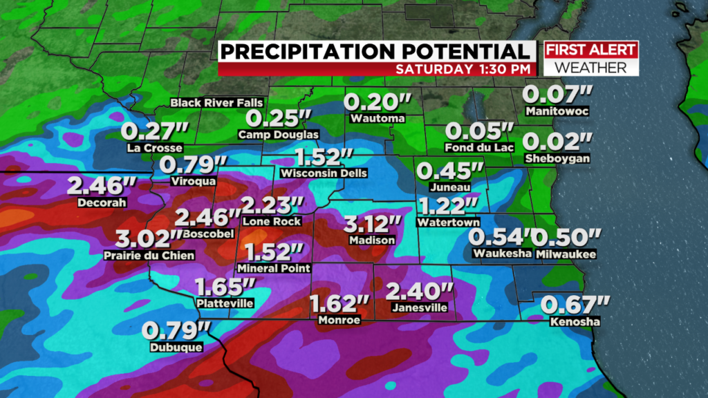 Another flooding followup? More heavy rain possible for southern Wisconsin