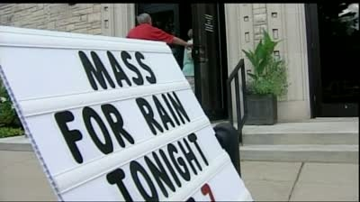 Church holds special mass to pray for rain