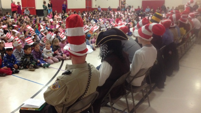 Event celebrates reading, Dr. Seuss' birthday