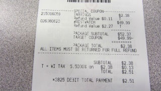Consumer Reports: Beware of BPA-tainted receipts