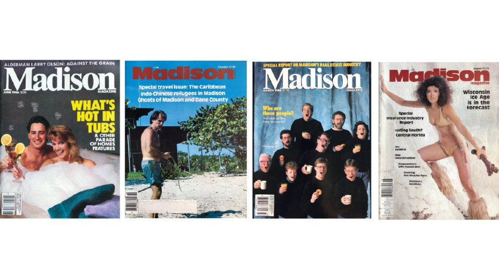 The stories behind these 1980s covers of Madison Magazine