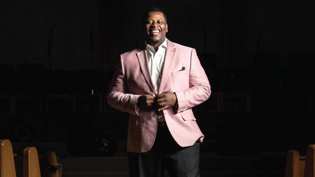 Meet Rev. Marcus Allen, the young pastor who leads the 108-year-old Mt. Zion Baptist Church