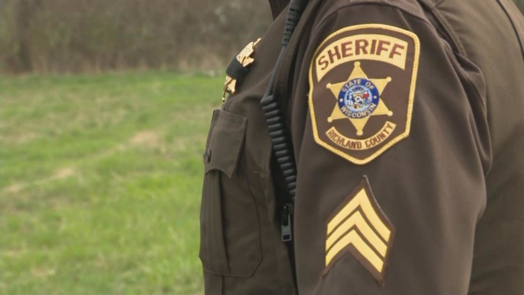 A generic photo of a Richland County Sheriff's Department officer