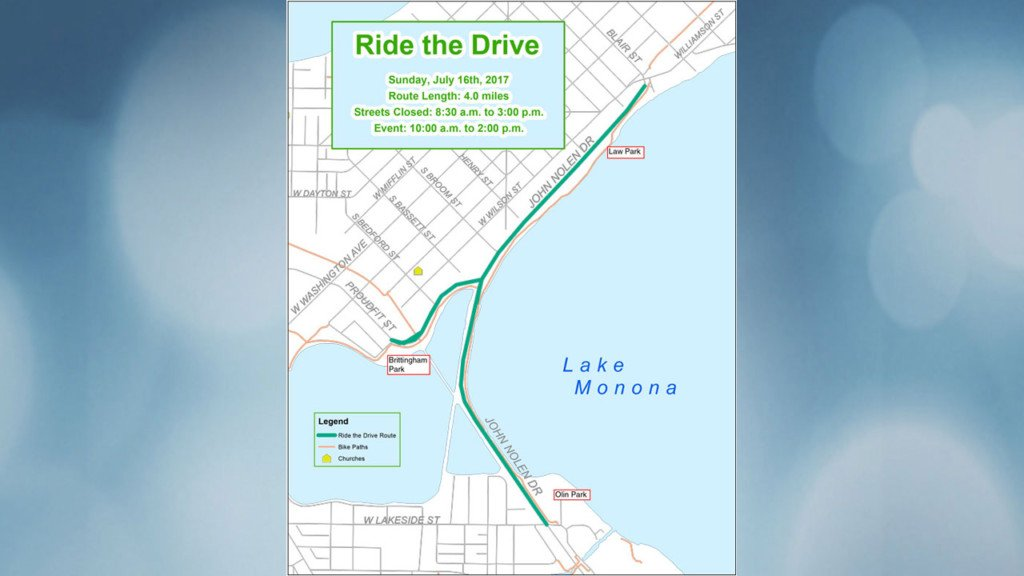 New route set for Ride the Drive