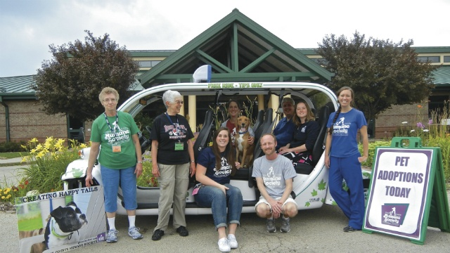 New E-Cab partners with DCHS for week-long fundraiser