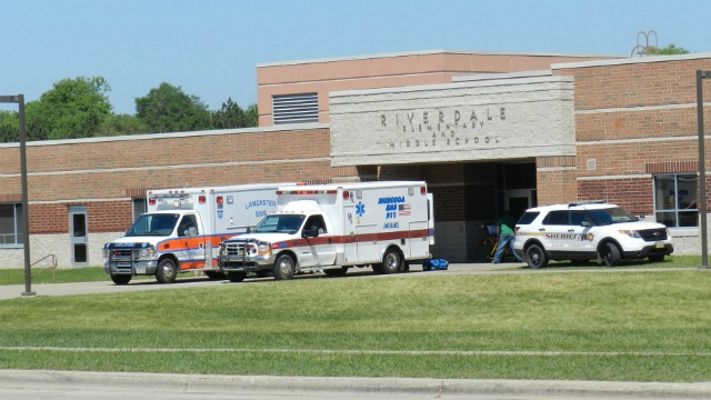 At least 10 Muscoda students taken to hospital, others ill