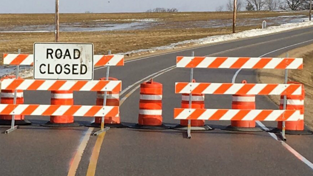 Roads closed in Richland County due to high water