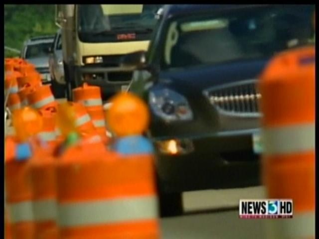 DOT: Highway projects on hold for holiday, motorists may still see delays