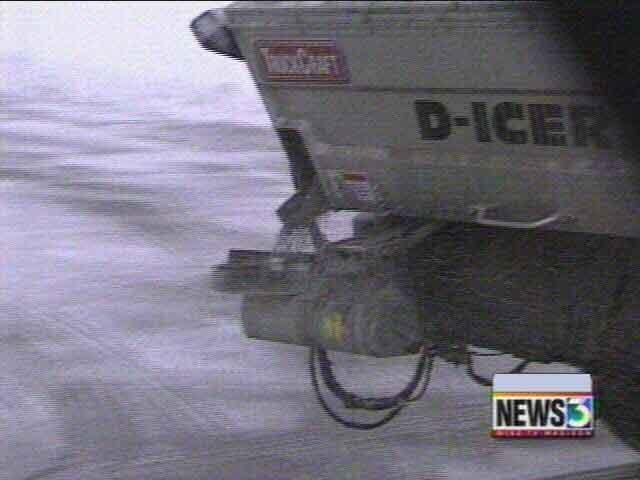 Salting snowy Wis. roads marks a tenuous balance