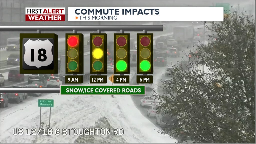 Chris Reece says snow is coming to an end, but impacts remain high
