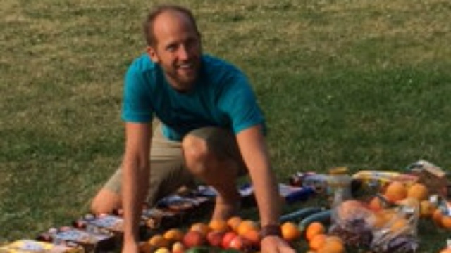 Dumpster diving shows amount of food wasted each day