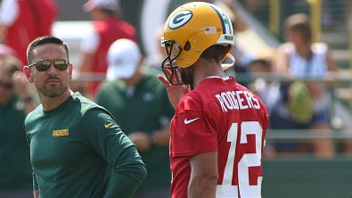 "Rodgers has ""all the freedom"" to change play calls"